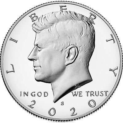 2017 S Silver 50C Kennedy Half Dollar Proof Deep Cameo Gradable