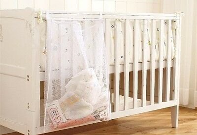 Cot Storage Organiser Mesh With Zipper Straps
