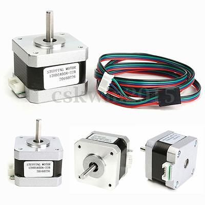 New Cable Nema 17 Tepper Motor 1.5A 4-wire For 3D Printing 17HD34008-22B