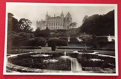 Sutherland - Dunrobin Castle, Golspie, RP PC Pub. White, Best of All Series