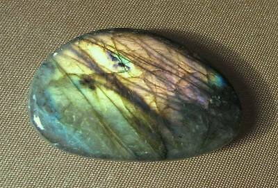 Special SALE Pretty Pebble Labradorite 4cm 12g With a Touch of Rare Pink