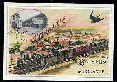 BODANGE.-..... TRAIN....   souvenir creation moderne serie numerotee