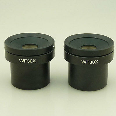WF30X 30x WF30 Stereo Microscope Eyepieces 30mm Pair Two