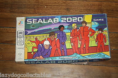 Sealab 2020 Vintage Board Game
