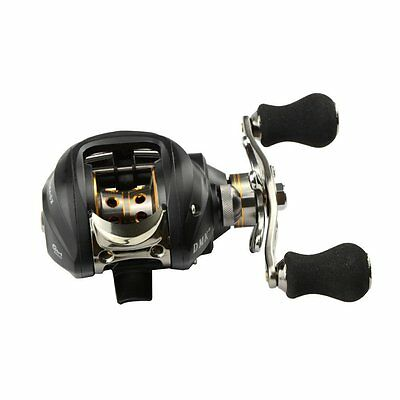 SS DMK 12BB 6.3:1 Right Hand Bait Casting Fishing Reel 11 Ball Bearings + One-wa