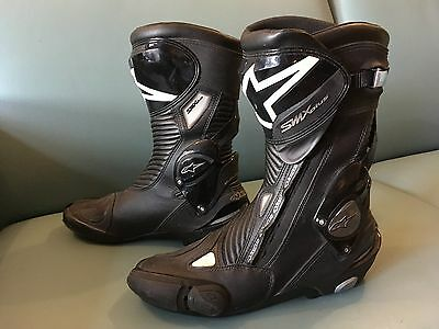 Alpinestars SMX Plus Motorcycle Boots Black