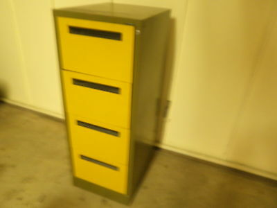 Filing Cabinet Metal 4 drawer... good condition... no rust.