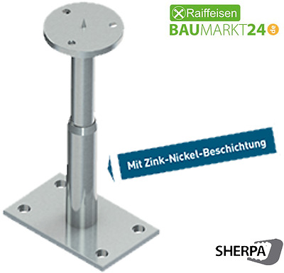 SHERPA Power Base Stützenfuß | M-XL 90 - 300mm | 95-125kN