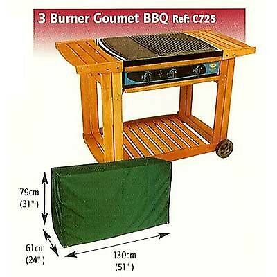 C725 Gourmet 3-Burner BBQ Cover - SAME DAY DISPATCH