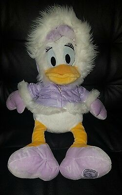 "Winter Daisy Duck 18"" Soft/Plush Toy"