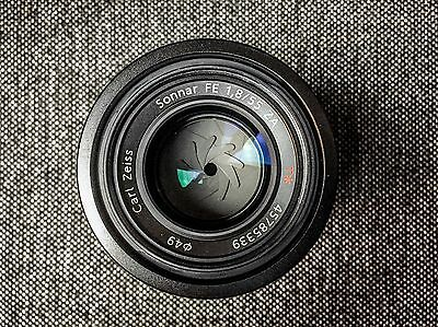 Sony FE 55mm F1.8 Zeiss, Great Condition