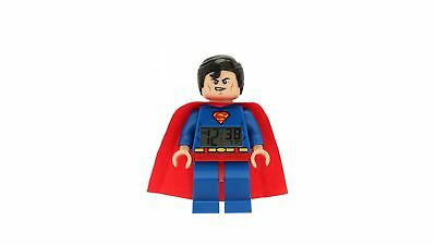 Clic Time LEGO Superman Minifigure Analog Alarm Clock with Adjustable Limbs