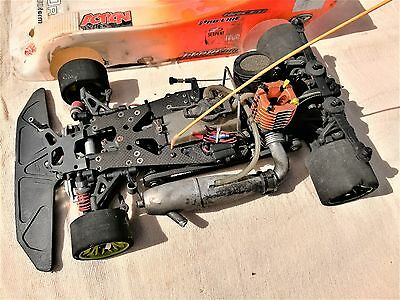 Serpent 950-R 1/8 Scale 4WD RC Circuit Car with Mega 21 Engine