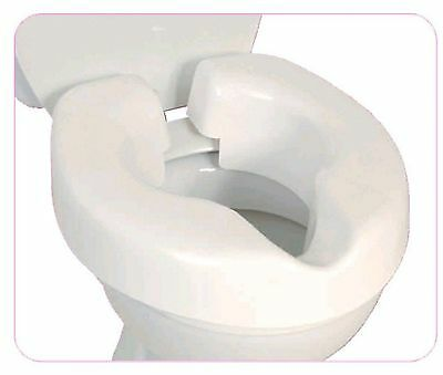 Healthcare Novelle Portable Clip On Raised Toilet Seat Eligible VAT Relief UK