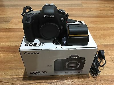 Canon  EOS 6D 20.2 MP Digital SLR Camera - Black (Body Only) IMMACULATE