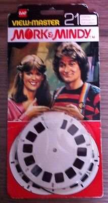 Viewmaster reels, Mork and MIndy