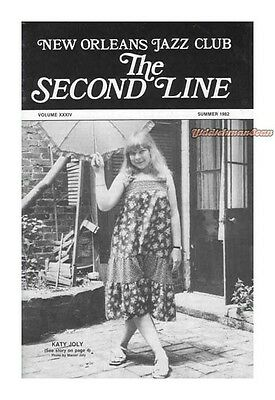 THE SECOND LINE New Orleans Jazz 1982 Louis Armstrong McKinney's Cotton Pickers