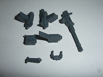 Imperial Guard tank pintle mounted weapons Warhammer 40k vehicle bits