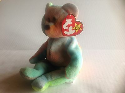 Beanie Original Baby GARCIA 1993 New with Mint Tag P.V.C Pellets