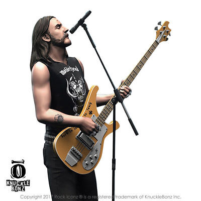 Motorhead Collectible: 2017 KnuckleBonz Rock Iconz Lemmy Kilmister Statue Figure