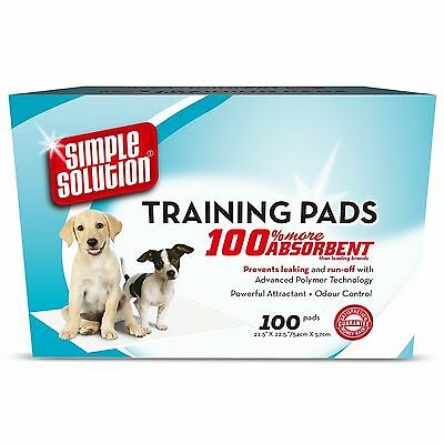 Simple Solution Dog Training Pads - 100 Pack - SAME DAY DISPATCH