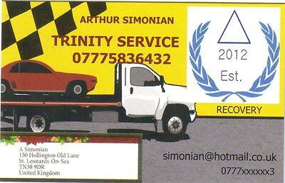 Recovery Car Van transport in Hastings, St. Leonards On Sea & all UK 07775836432