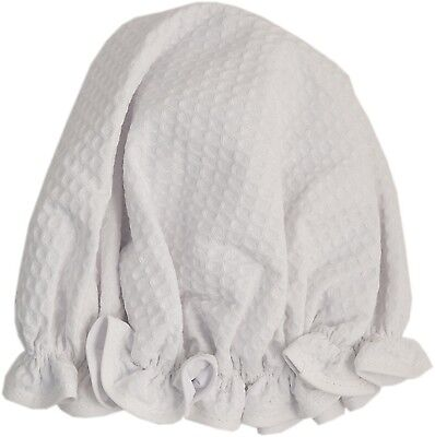 Vagabond Bags Ltd Shower Cap White Waffle - SAME DAY DISPATCH