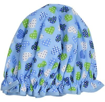 Vagabond Bags Ltd Shower Cap, Blue Hearts