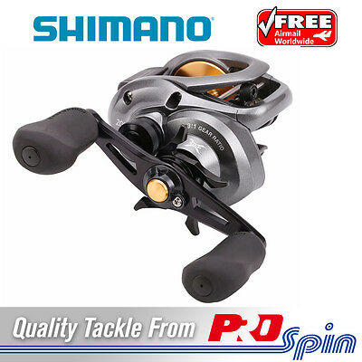 Right-handed Shimano Citica 200 Baitcast Fishing Reel - Saltwater Baitcaster