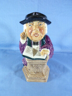 Roy Kirkham Toby Jug The Vicar Hand Painted