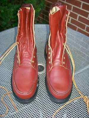 Vintage Wolverine Horsehide Leather Men's Boots Size 11