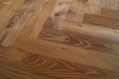 450mm Robinia Thermo treated Parquet Flooring  S16DAP1 Acacia Black Locust