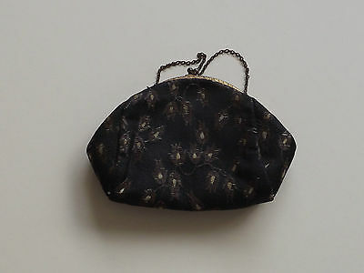 Vintage Evening Dress Clasp Bag / Purse (L59)