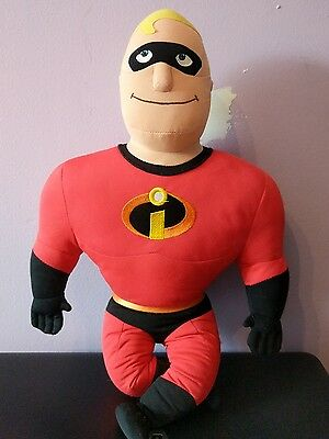 "Disney The Incredibles Mr. Incredible 20"" Talking Plush Doll"