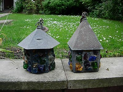 Peter Marsh Lanterns Sold Together Only Free Post Stunning Pieces Vintage Rare