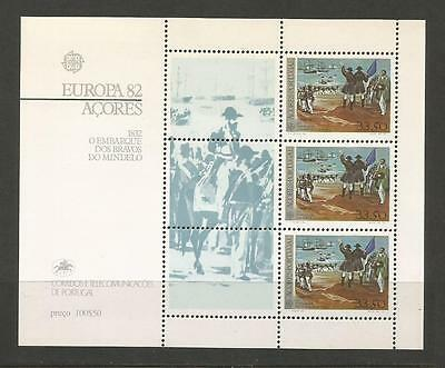 Azores Portugal.  Europa 1982. Cept - Heroes De Mindelo**. Mnh