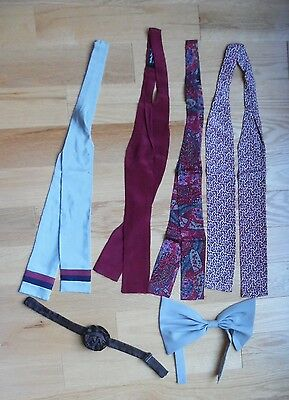 LOT SILK TIES for the VICKY DAVIS for VERA & BLOOMSBURY for TIE RACK + WOMEN LAD