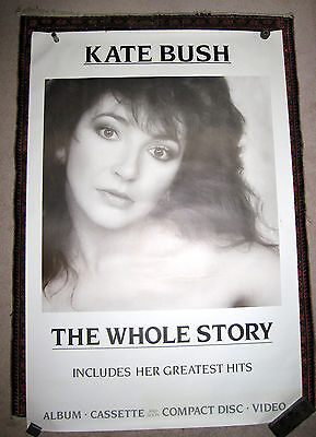 "Kate Bush - The Whole Story Poster Original, official and huge 40"" x 60"""