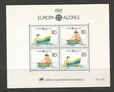 Azores Portugal - Europa 1989 - Children's Games And Toys**. Mnh