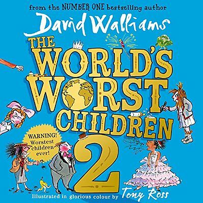 World's Worst Children 2 by David Walliams CD-Audio Book New