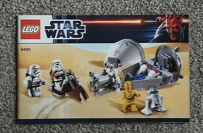 Lego Star Wars 9490 Droid Escape Instruction Manual NEW