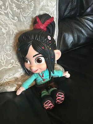 RARE DISNEY WRECK IT RALPH VANELLOPE VON SCHWEETZ TOY DOLL 30cm THINKWAY TOYS
