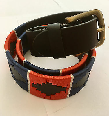 Blue/red Polo Belts