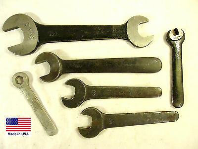 Vintage J.H. Williams, Spanner, Hex & Double Open End Wrenches, Used, USA.