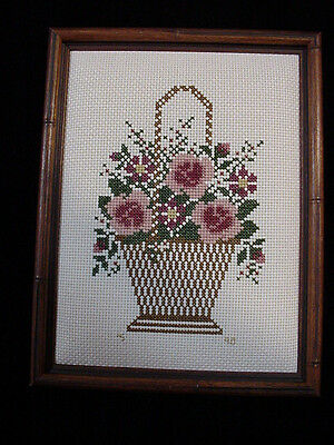 Professionally Framed Counted Thread Art Designs