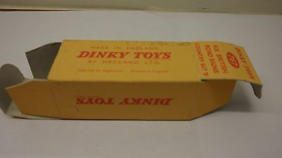 Dinky 767  6 x Road Signs - Country Set 'B' -  Box only