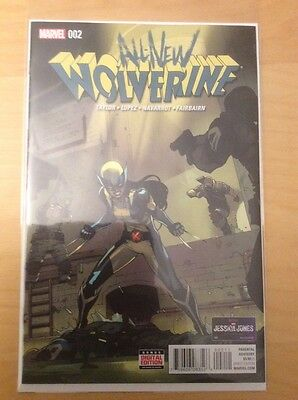 All New Wolverine 2, Nm+ 9.6, 1St Print, 2016, 1St X 23 Twin Sister