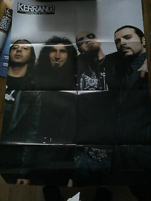 System of a Down Large Fold Out Poster from Magazine Metal Hammer Kerrang