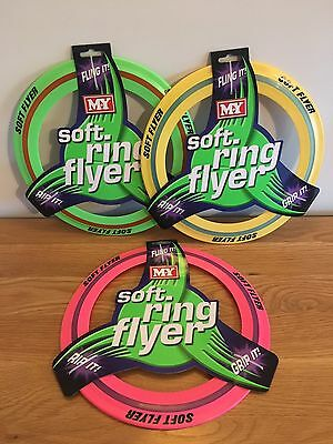 Soft Flying Ring Frisbee Garden Summer Holiday Toy