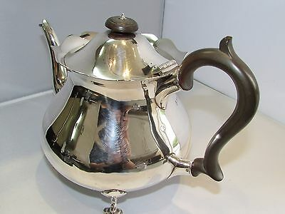 Sterling silver teapot